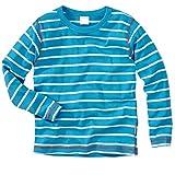 wellyou Ringel Langarm-Shirt türkis-weiss , Farbe - D1 , Gr.140 - 146cm