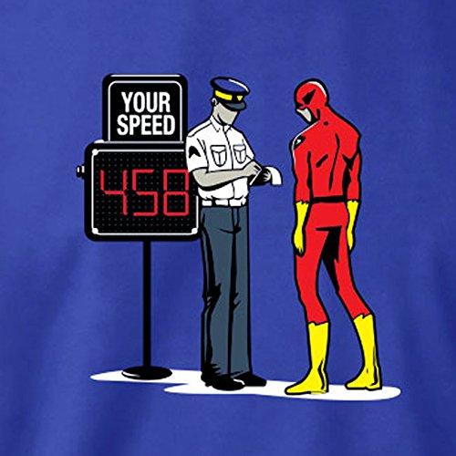 TEXLAB - Speedster Blitzer - Herren T-Shirt Graumeliert