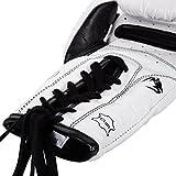 Venum Erwachsene Boxhandschuhe Mit Schnürsenkel Giant 3.0, Weiß, 12 oz, 02729-002 - 4