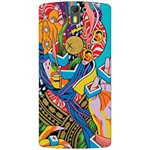 Oneplus One A0001 Back cover (Printland)
