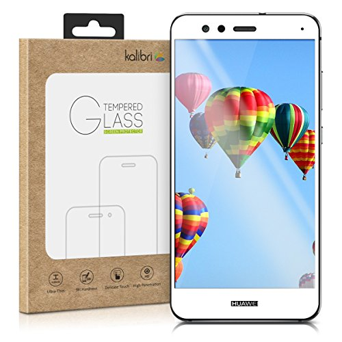 kalibri-Echtglas-Displayschutz-fr-Huawei-P10-Lite-3D-Schutzglas-Full-Cover-Screen-Protector-mit-Rahmen-in-Wei