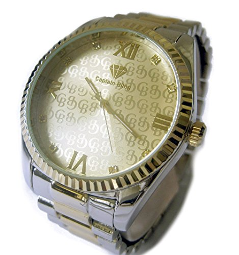 mens-genuine-diamond-presidential-style-hiphop-bling-watch-gold-silver-plated