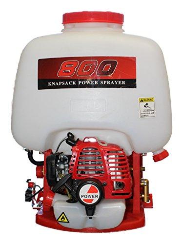 Bricoferr BFOL0864 Mochila Fumigadora con Motor a Gasolina, 2 Tiempos