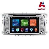 wekuo 2G RAM Android 7.1Auto DVD für Ford Focus 22008200920102011201220132014GPS Haupteinheit Autoradio mit Free Karte Wifi