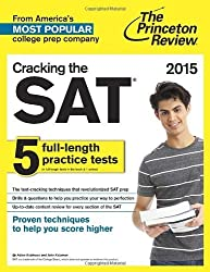 Cracking the Sat with 5 Practice Tests: 2021 Edition (College Test Preparation) (Princeton Review: Cracking the SAT) by Princeton Review (2014-06-19)