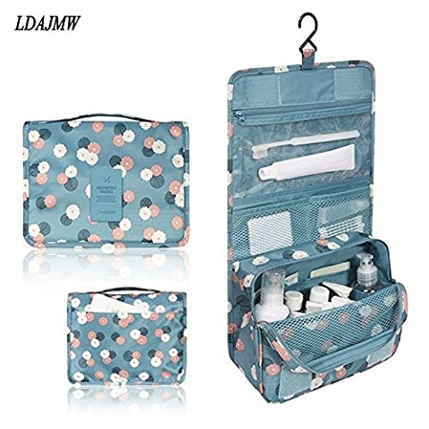 Generic wine red : Hanging Toiletry Kit Clear Travel BAG Cosmetic Carry Case Toiletry Organizer For Traveling Bathroom