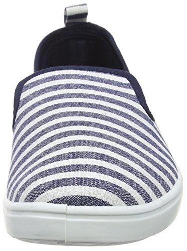 New Look Herren Ashley Slip On Blue (49/Blue Pattern)