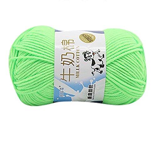 hlhn 50g NEW geschoben Colorful Hand stricken Noten Milk Baumwolle h (Noten Stricken)