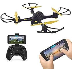 Hubsan pixnor h507a X4Star Pro Aviones Sin tripulación quadricotteri GPS Cámara de Fotos, 720p App con Mando a Distancia (507a + ht009), Color Plus