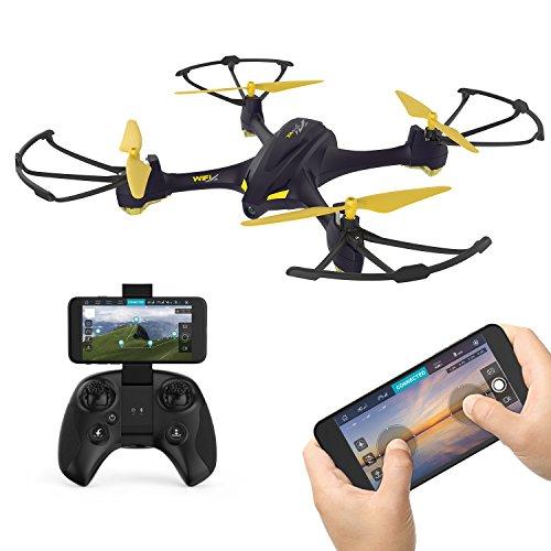 Hubsan- H507A X4 Star PRO Droni Quadricotteri GPS Fotocamera 720P App con Telecomando (507A+HT009), Colore Plus
