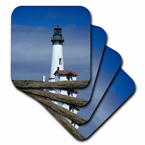 Danita Delimont–Leuchttürme–Oregon, Newport, Yaquina Head Lighthouse–US38jwi0131–Jamie und Judy WILD–Untersetzer, Gummi, set-of-4-Soft (Yaquina Head)