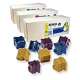 Refresh cartucce d' inchiostro solido cartuccia di ricambio per Xerox 108R00661(multicolore)