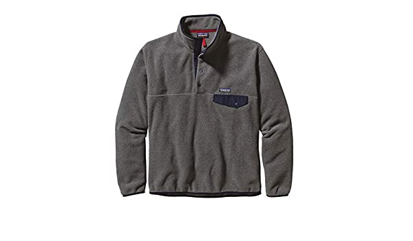 Patagonia Men's Lightweight Synchilla Snap T Fleece Pullover