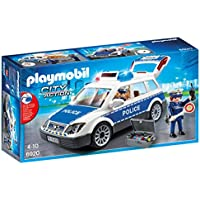 Playmobil - 6920 - Voiture Policier + Gyrophare