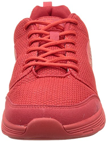 KangaROOS Current, Baskets Basses Mixte Adulte Rouge (Flame Red 670)