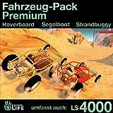 Fahrzeug-Pack Premium - Gleiten, Segeln und Fahren: Second Life [Game Connect]