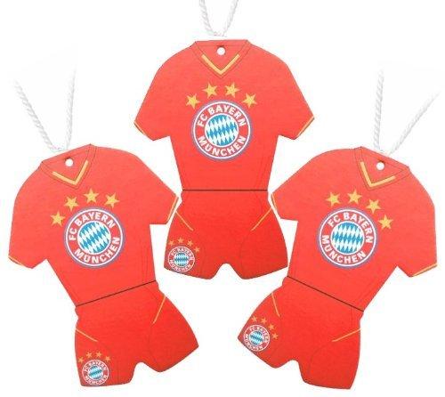 Preisvergleich Produktbild FC Bayern München Trikot Lufterfrischer 3er Set