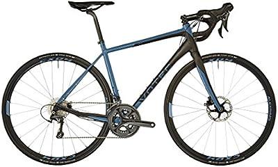 VOTEC VRd Pro negro- azul petróleo 2018 Bicicleta Carretera
