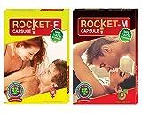 #7: GLAMOUR WORLD Rocket Capsule - M & F set of 2