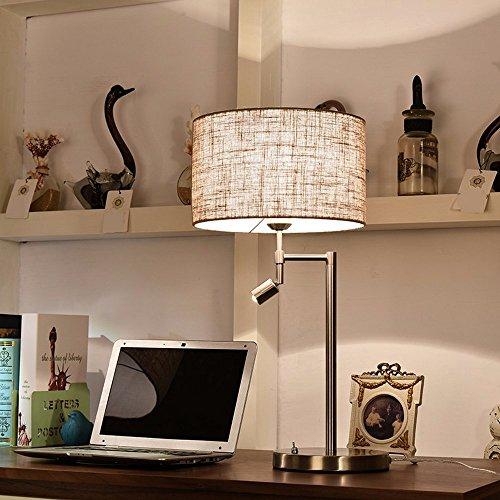Fernbedienung Lampe - Schlafzimmer Mit Lampe Einfachen, Modernen, Kreativen / Warm / Bett Lampe Dekoration Lampe (31W-40W Ohne Quelle),Doppel - Wechsel (Doppel-wechsel Moderne)