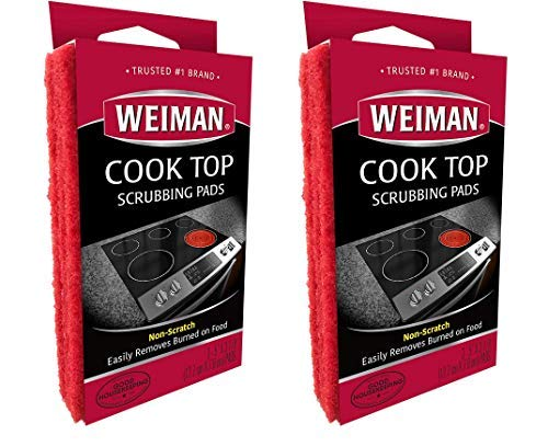 Weiman Cook Top Schrubben Pads, 3 Count-2 Pack
