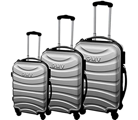 Set Trolley - Ensemble de valises Hard Shell ABS 4