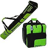 5cef1000b2 Brubaker Set combinato Ski Sacco e borsa per scarpe da sci per 1 paia di sci