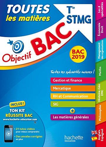 Objectif Bac 2019 Toutes les matières Tle STMG par Collectif