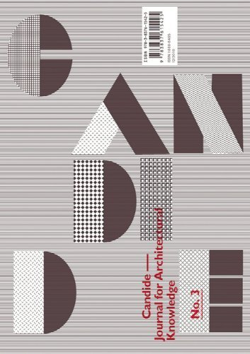 Candide: Journal for Architectural Knowledge, no 3 by Transcript-Verlag (2011-01-05)