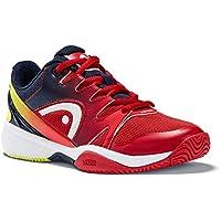 HEAD Junior Tennisschuhe NZZZO All Court red//Malibu-Blue