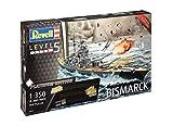 Revell 05144 - Battleship Bismarck Platinum Ed im Maßstab 1:350