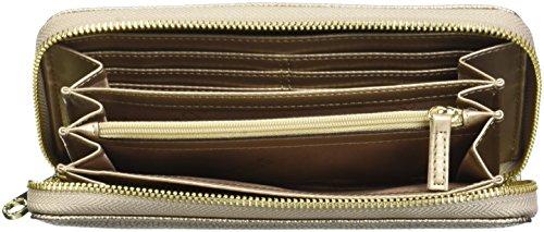 Guess Damen Tulip Geldbörse, 4.5x11.5x17 cm Gold (Oro)