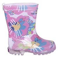TUC TUC Girls Light UP Wellies Nature FUSIÓN
