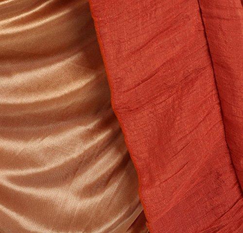 CoutureBridal® Damen Maxirock Sommerrock Baumwolle und Leinen Normallack Rock Langrock 5 Farben Jeans Blue