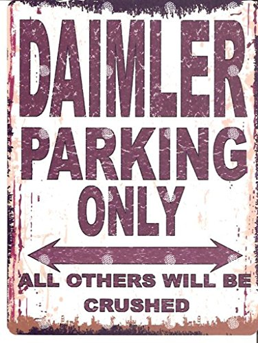 daimler-parking-sign-retro-vintage-style-large-12x16in-30x40cm