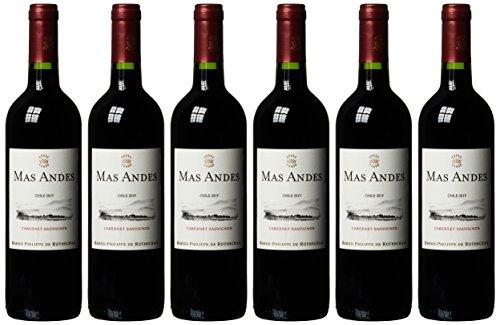 Mas Andes Cabernet Sauvignon Chile trocken 2015 (6 x 0.75 l)
