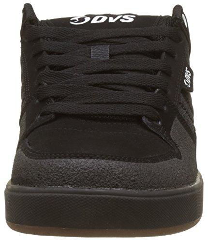 DVS Shoes Portal+, Scarpe da Skateboard Uomo Noir (Black Nubuck)