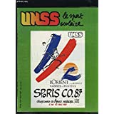 UNSS, le sport scolaire - N°44 - MAI 1987 : DANSE / GOLF / NATATION SYNCHRONISEE + JUDO + EQUITATION + BASKET + TOUR DE FRANCE DES AS / SPORT SANS VIOLENCE + INFORMATIQUE + DOCUMENTATION.