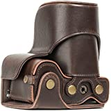 "MegaGear ""Ever Ready"" Leather Camera Case - B01NBF5OR3"