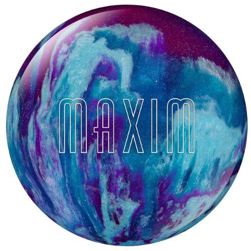 Ebonite Maxim Bowling Ball - Purple/Royal/Silver, 6 lb