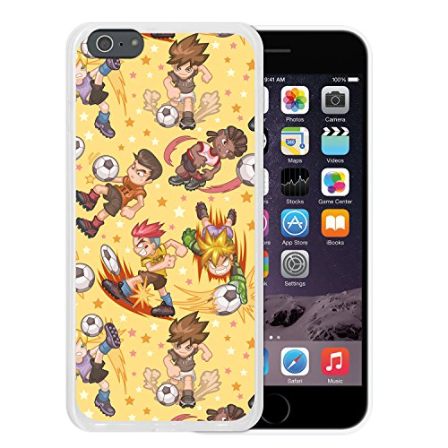 iPhone 6 Plus | 6S Plus Hülle, WoowCase® [Hybrid] Handyhülle PC + Silikon für [ iPhone 6 Plus | 6S Plus ] Husky-Hunde Sammlung Tier Designs Handytasche Handy Cover Case Schutzhülle - Transparent Housse Gel iPhone 6 Plus | 6S Plus Transparent D0569