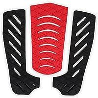 Alomejor Almohadillas de tracción para Tabla de Surf, Almohadillas Antideslizantes de Goma EVA para Surf y Snowboard
