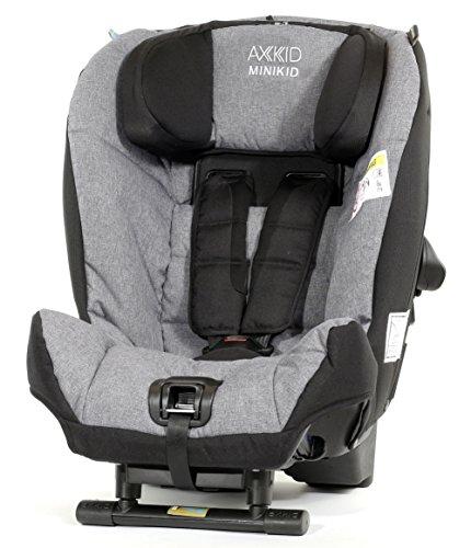 Axkid Minikid Kindersitz Reboarder 0-25KG Melange Grau