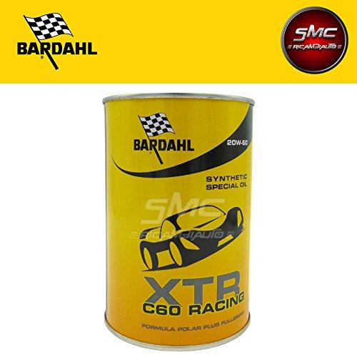 SMC 321039 Olio Motore Auto BARDAHL XTR 20W60 C60 39.67 Racing Motore Auto (1)
