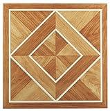 Achim Home Furnishings ftvwd20520Nexus 12Zoll Vinyl Fliesen, Holz Bordüre weiß klassisch eingelegten Parkett, 20er Pack