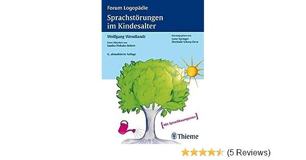 Sprachstörungen Im Kindesalter Materialien Zur Früherkennung Und