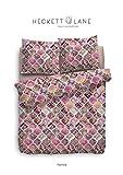 Heckett u. Lane Bettwäsche Rachela Baumwolle Pink Größe 135x200 cm Design Indisch Orientalisch