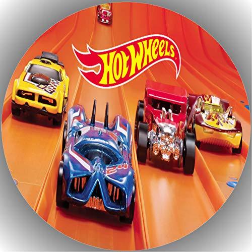 er Tortenbild Geburtstag Hot Wheels T1 ()