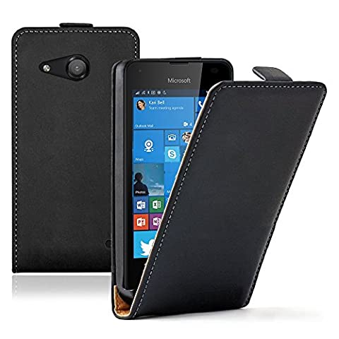 Etui Cuir Lumia 550 - VCOMP® Housse Coque Etui Cuir PU Vrai
