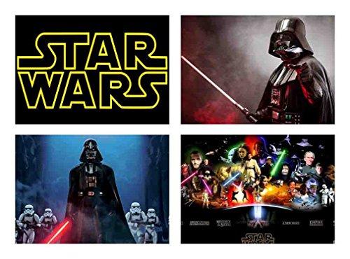 Set 4 tovagliette star wars 4